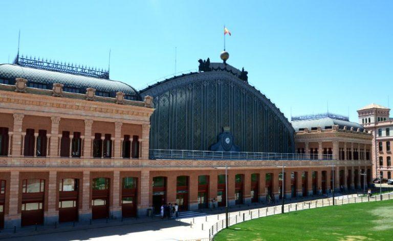 Atocha Train Station in Madrid