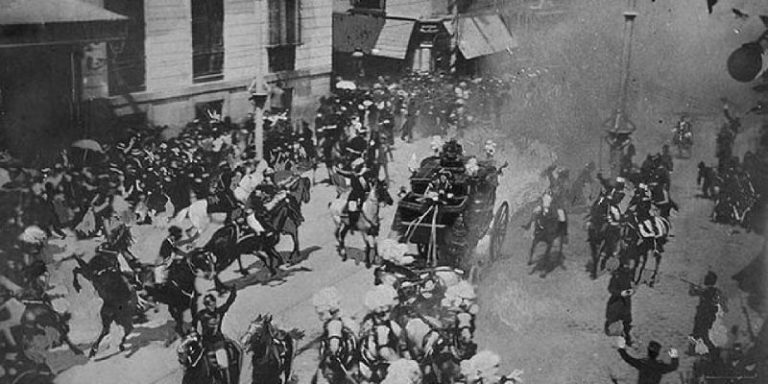 Anarchist Attack against Alfonso XIII