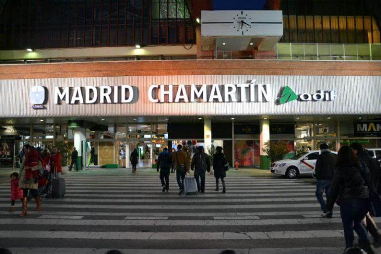Chamartin Train Station Madrid