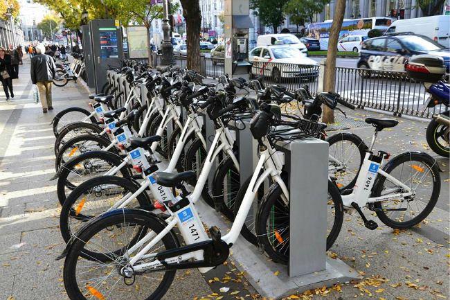 Madrid electric bikes