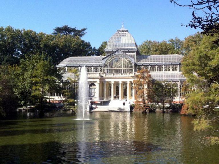 Retiro Park Glass Palace