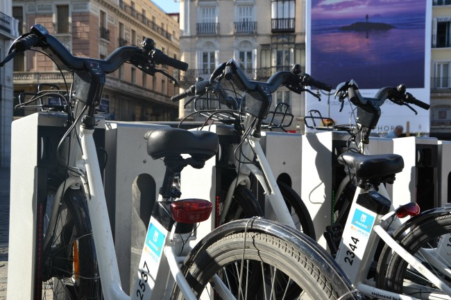 Madrid electric bikes in Madrid
