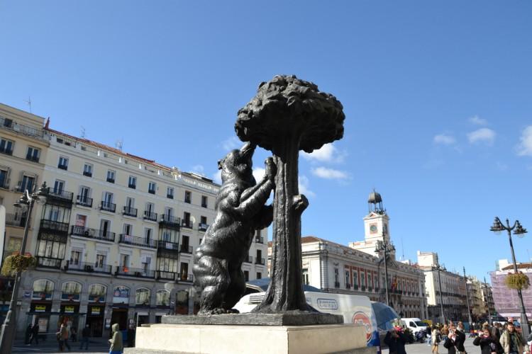 Puerta del Sol Square Madrid