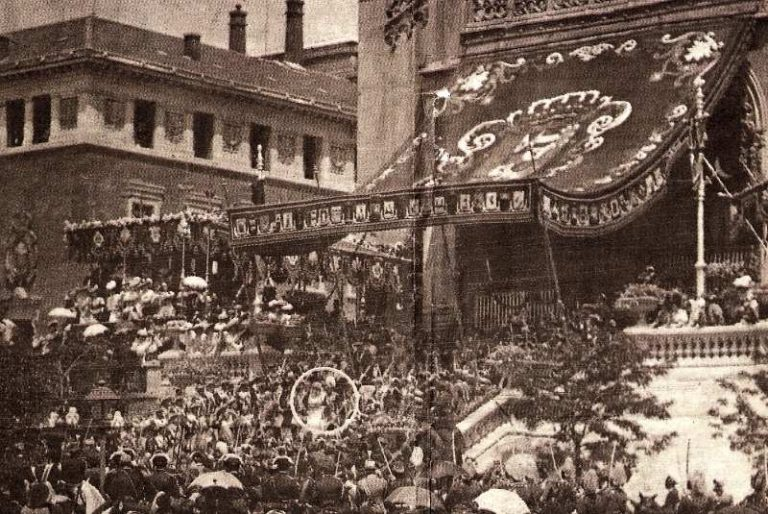 Alfonso XIII's anarchist attack