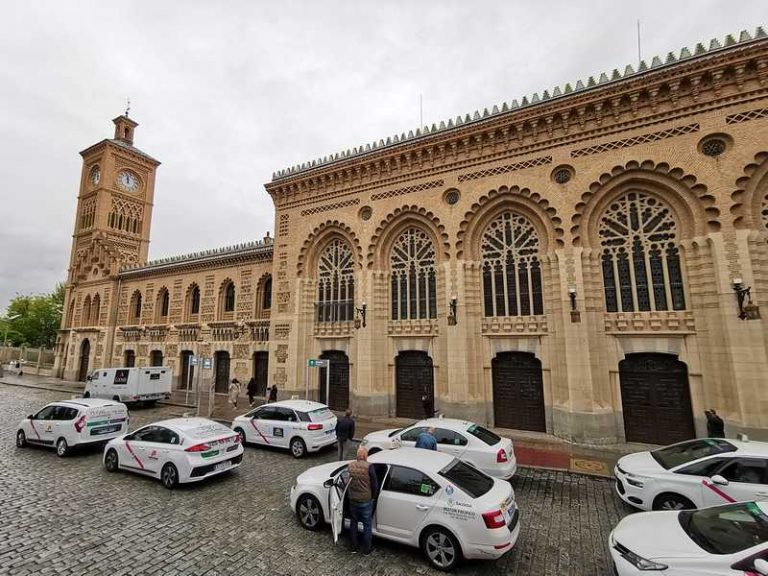 How to get from Madrid to Toledo