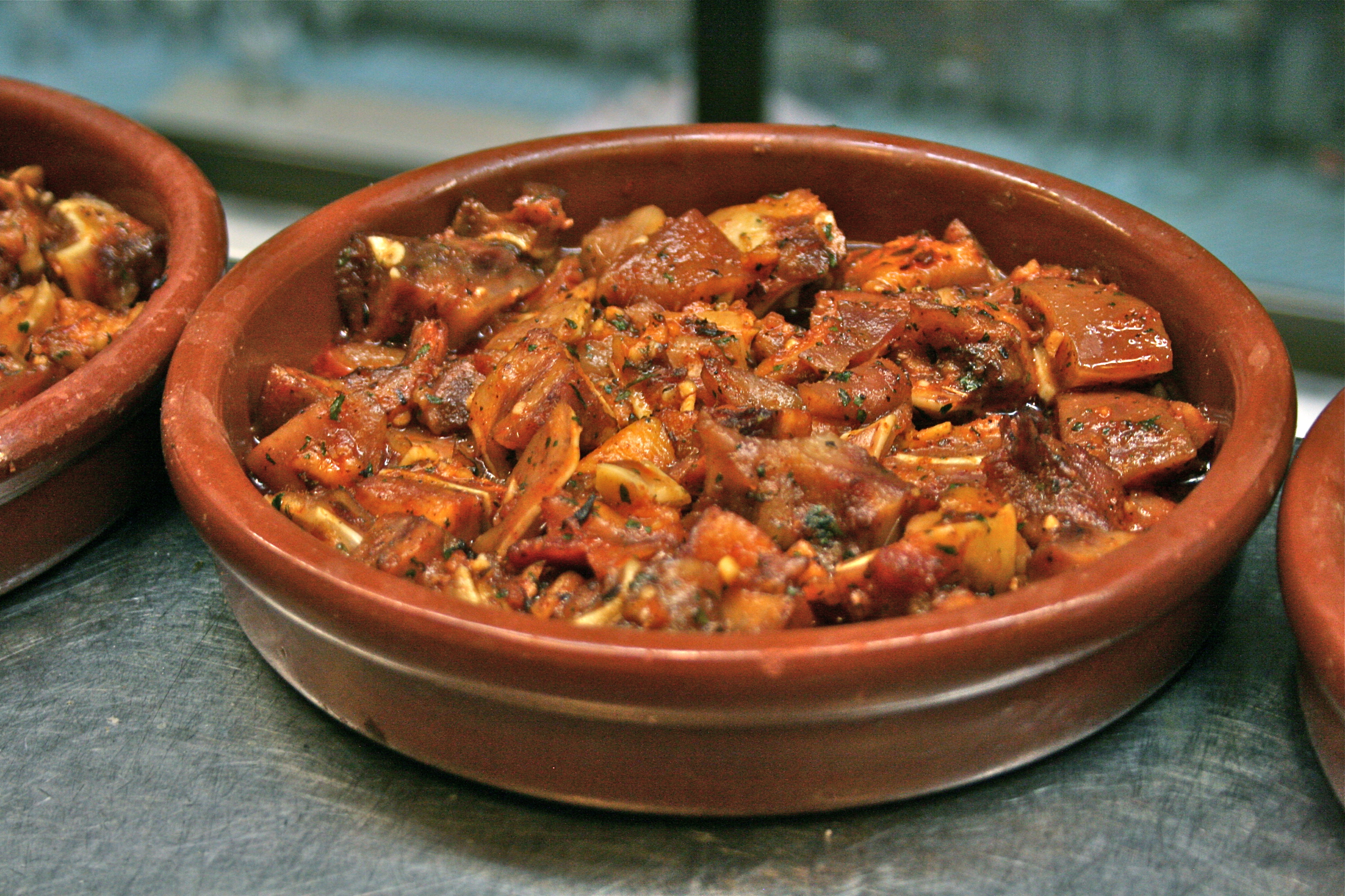 Delicious pig´s ear / Wikipedia C.C.