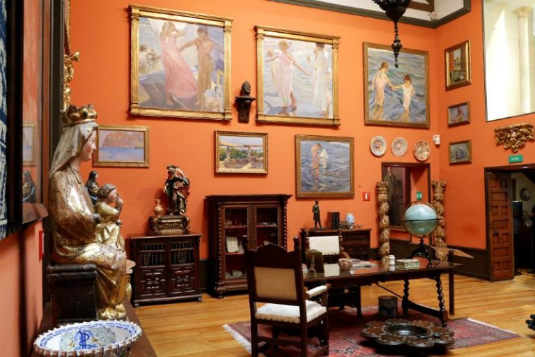 free entry to Sorolla Museum Madrid