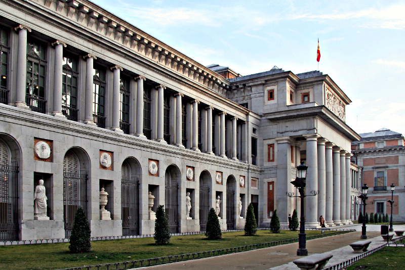 Prado Museum, inaugurated in 1819, is the most important museum in Spain