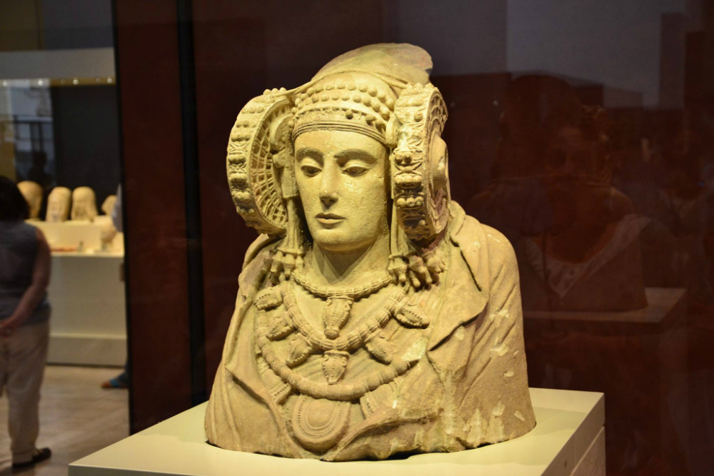 The Lady of Elche, symbol of the Iberian Culture