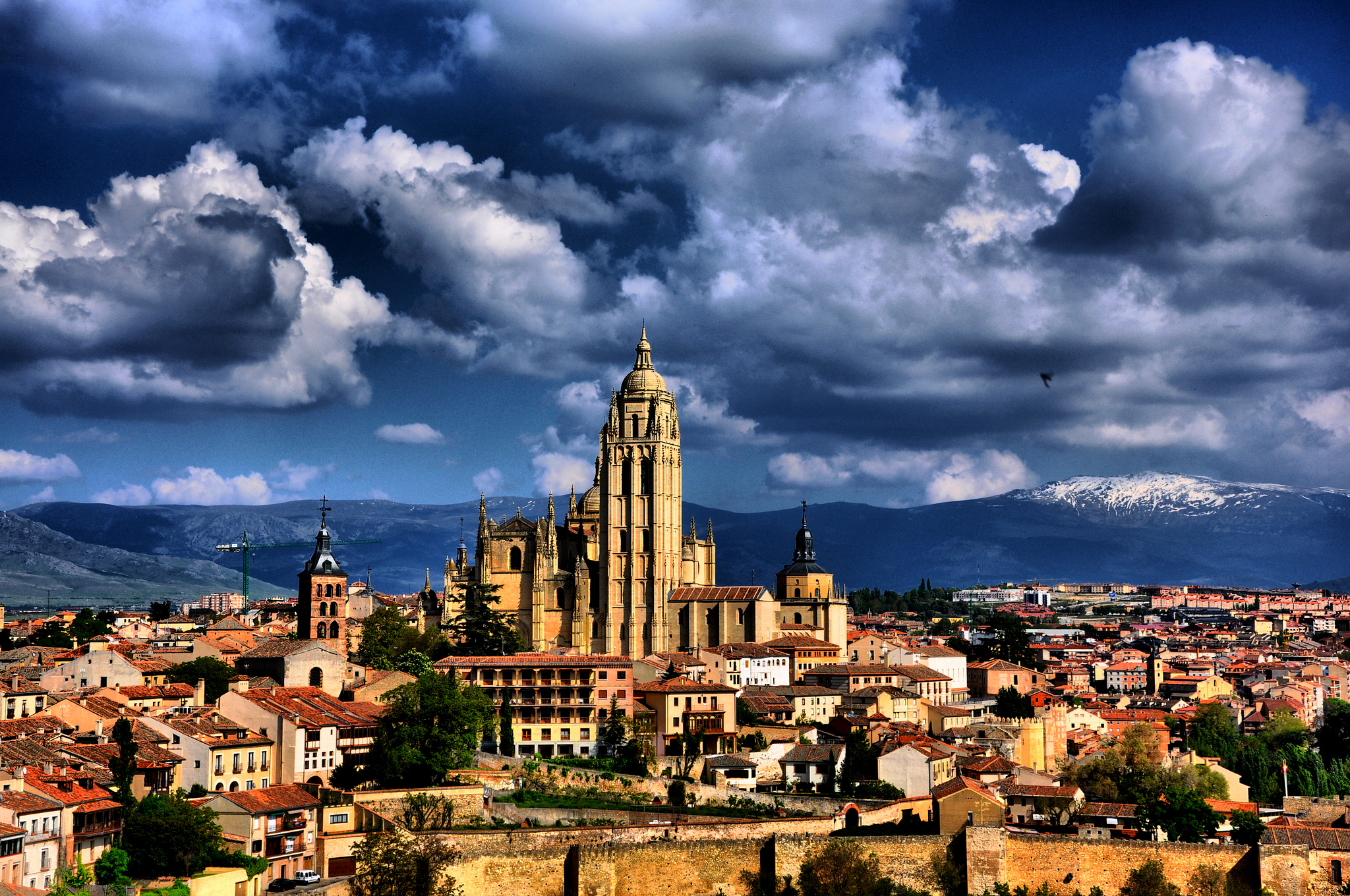 Panoramic view of Segovia / jescadi01 (Flickr / C.C.)