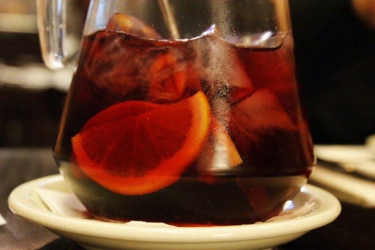 drink sangria in Madrid