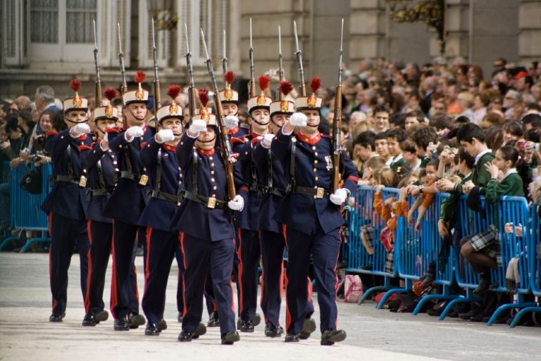 free things to do in Madrid Changing of the guard