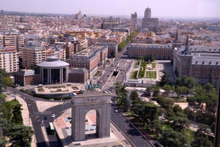 Free Panoramic views in Madrid