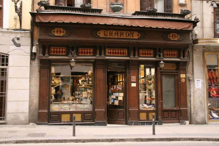 Traditional businesses in Madrid