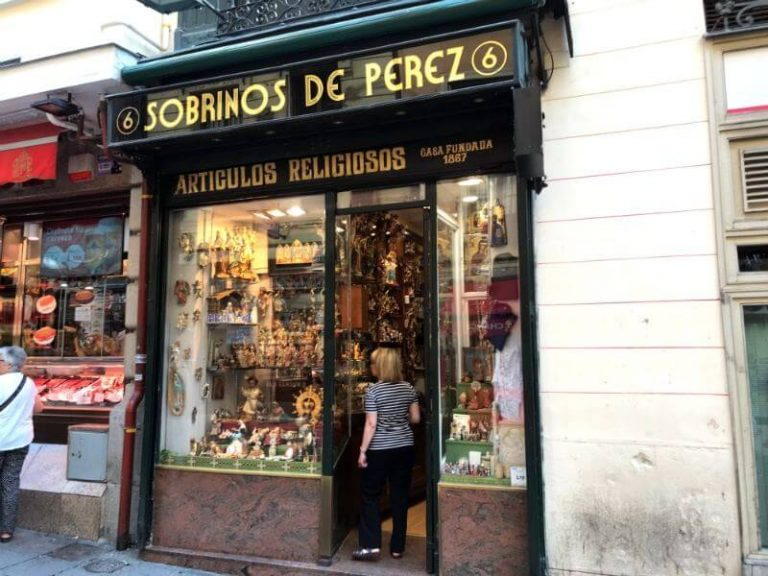 Traditional Shops in Madrid