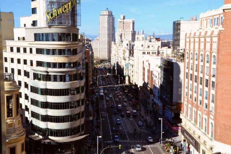 Panoramic Views in Madrid