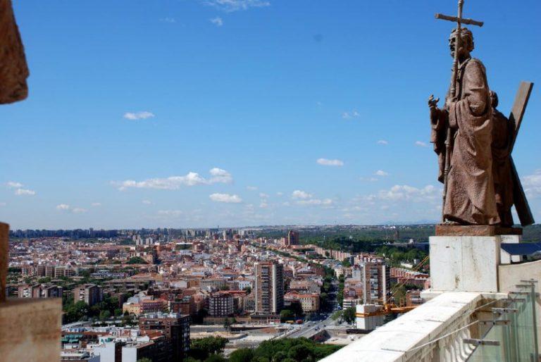 Panoramic views in Madrid Almudena