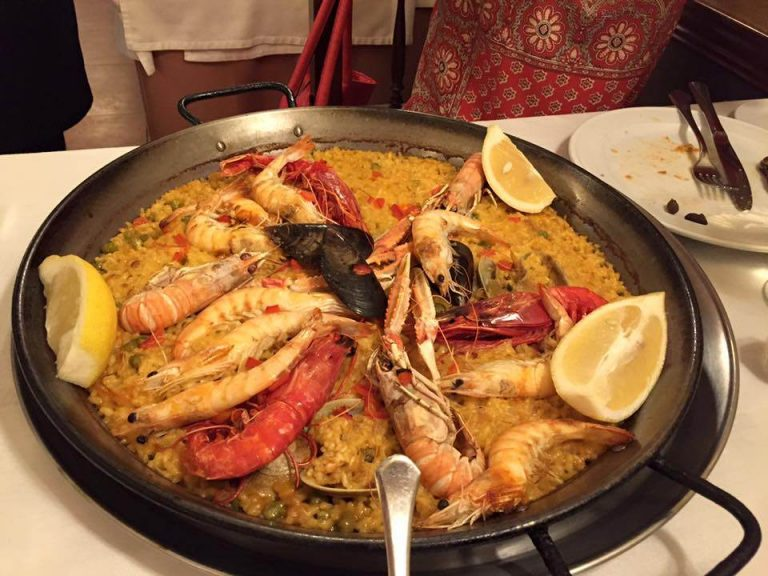 Where to eat paella in Madrid