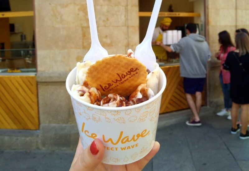 the best ice cream parlours in madrid