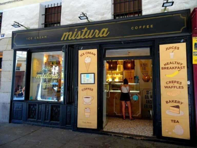 the best ice creams in Madrid