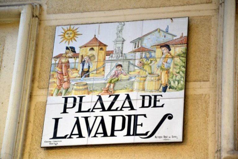 Lavapies Neighbourhood in Madrid