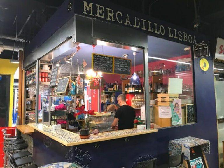 San Fernando Market in lavapies neighborhood