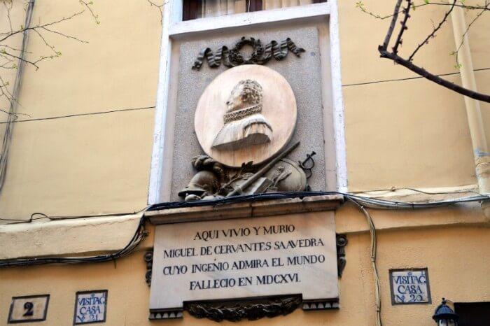 Literary Quarter Tour in Madrid