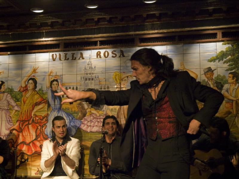 Flamenco Show in Madrid Villa Rosa