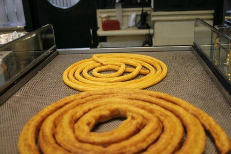 Gluten free churros in Madrid